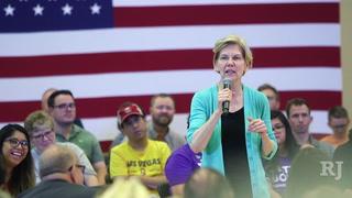 Elizabeth Warren visits Las Vegas