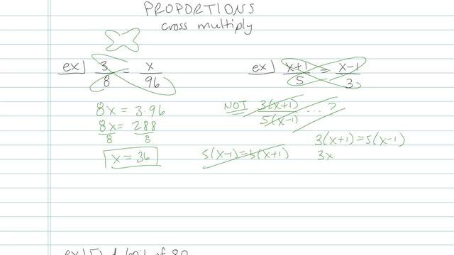 Proportions - Problem 6