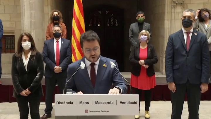 Aragonès ve una irresposabilidad que el TSJC mantenga las elecciones