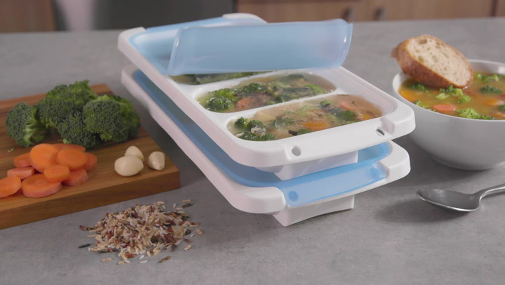 Preview image of Progressive Prepwork Freezer Portion Pod Tray, 1 C video
