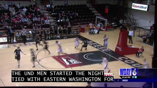 UND women win 7th in a row, UND men lose to Eastern Washington