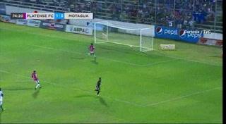 Motagua despierta y derrota al Platense en el Excélsior