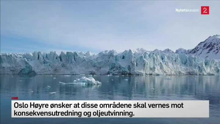 Oslo høyre ønsker å verne havområder i Lofoten, Vestreålen og Senja
