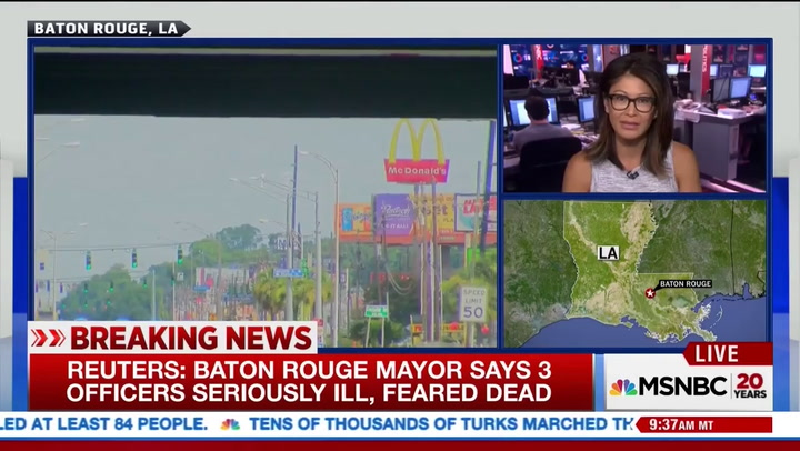 Baton Rouge Mayor Reacts to Police Shooting, Says 'We Have