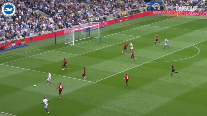 Brighton edge five goal thriller vs Manchester United