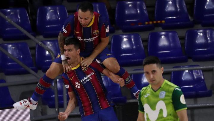 Resumen del Barça - Inter FS, tercer partido de los Cuartos de Final LNFS