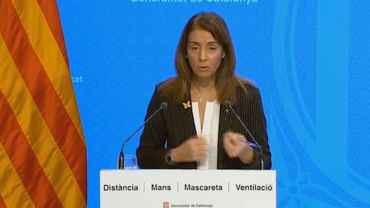 Catalunya mantiene reuniones de 10 personas y toque de queda ampliado