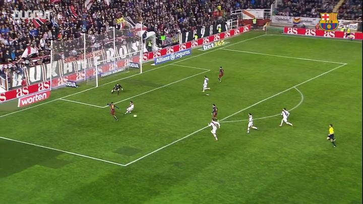 Hat-Trick Heroes: Leo Messi Vs Rayo Vallecano