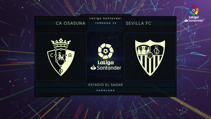 LaLiga Santander (J24): Resumen y goles del  Osasuna 0-2 Sevilla