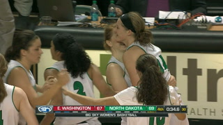 NCAA BB: UND women win 7th straight, road losses for UND & NDSU men