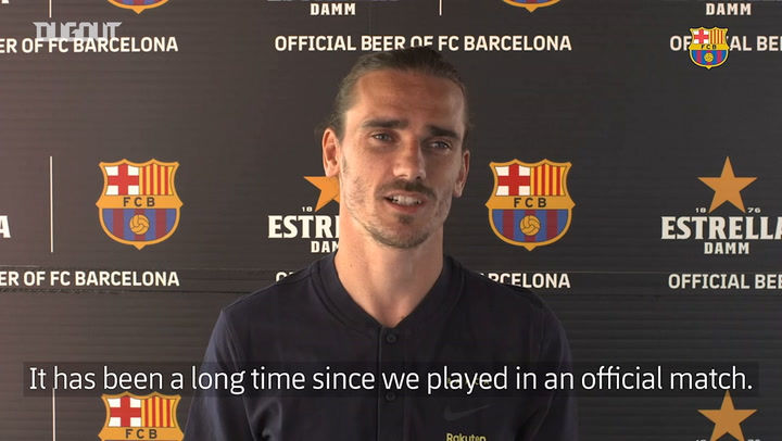 Griezmann: 'I want to be an important part of the team'
