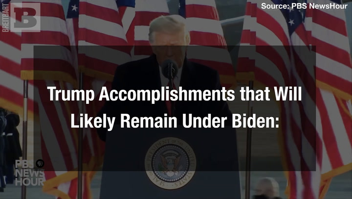 Trump Accomplishments that Will Likely Remain Under Biden