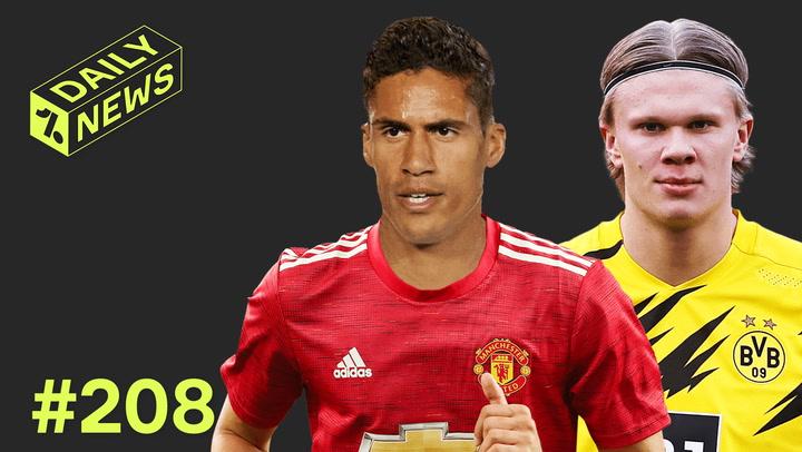 Haaland wants INSANE money + Man United start Varane transfer talks!
