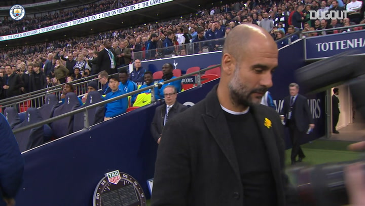 Throwback: Man City Conquer Spurs At Wembley