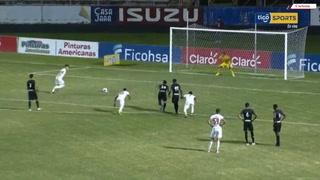 Matías Garrido sentenció el juego al anotar el 5-0 de penal