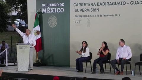 El presidente mexicano pide no