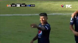 Motagua está venciendo a los Lobos de la UPNFM en Danlí con gol de Iván López