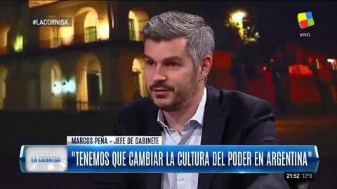 Peña dijo que no se descarta que pudo haber falla de algún gendarme en el caso Maldonado