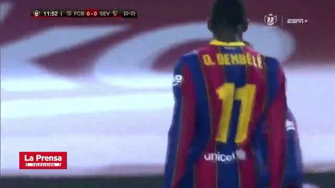 Barcelona 3 - 0 Sevilla (Copa del Rey)