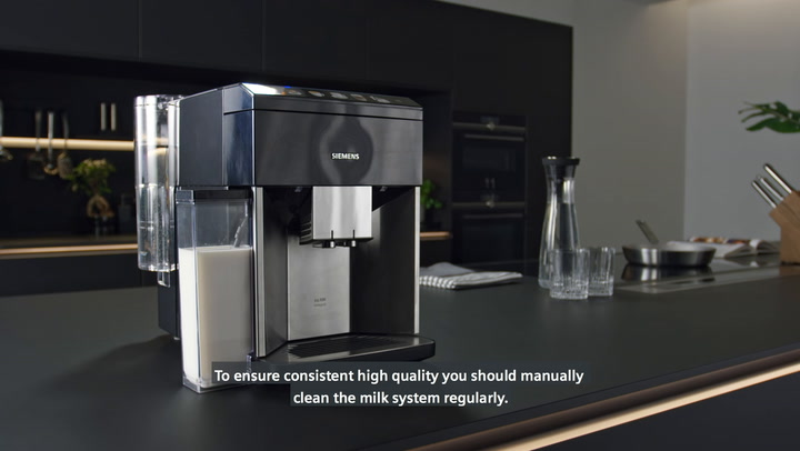 Preview image of Siemens EQ.5 Automatic Bean-to-Cup Coffee Machine  video