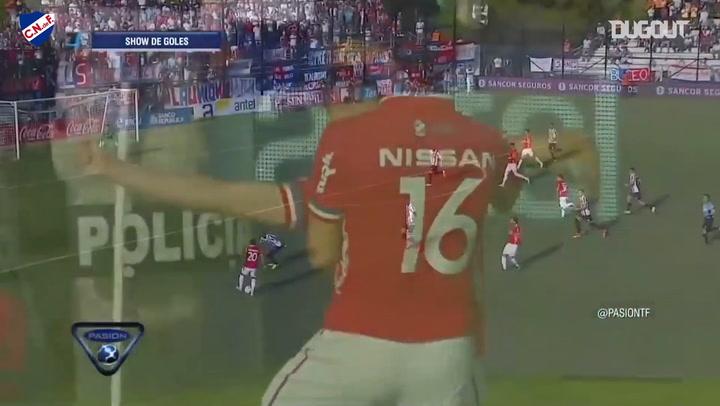 Club Nacional hit three past Montevideo Wanderers