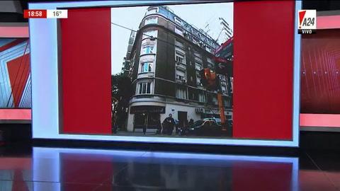 Allanaron departamentos del edificio donde vive Cristina