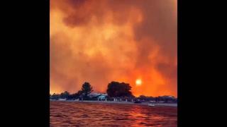 VIDEO: Incendios forestales de grandes proporciones en Turquía