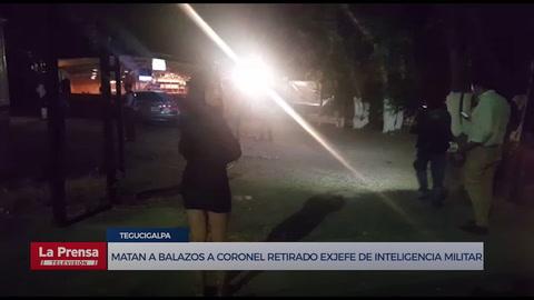 Matan a balazos a coronel retirado exjefe de inteligencia militar