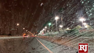 Las Vegas Weather | Steady Rain Falls in Northwest Valley