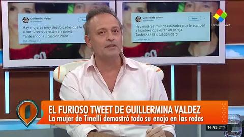 Se conoció quién es la mujer a la que Guillermina Valdés le dedicó su furioso tuit