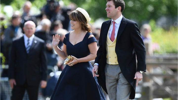 A  nd Royal Wedding Is Coming  Princess Eugenie
