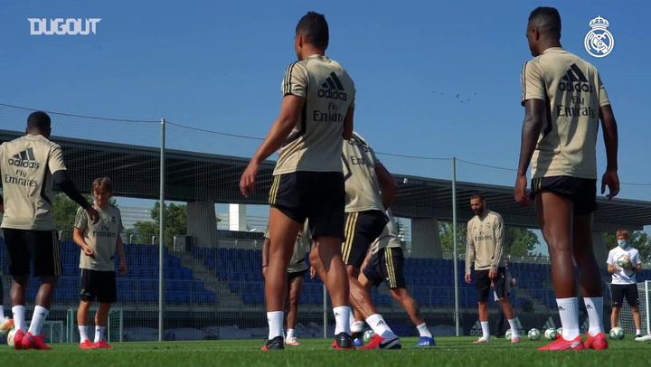 Casemiro se destaca em treinos do Real Madrid