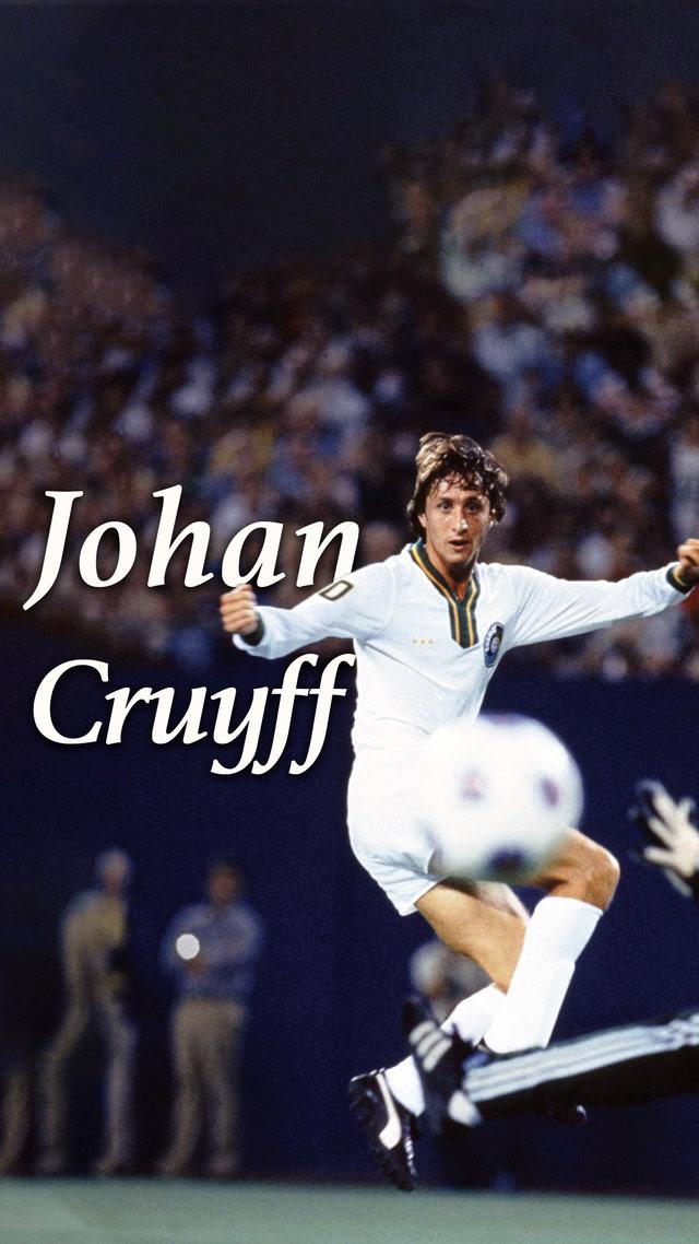 Futbolun en büyük sahnesi - Johan Cruyff