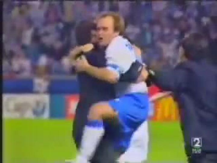 Revive el gol de Nayim en la final de la Recopa de Europa de 1995