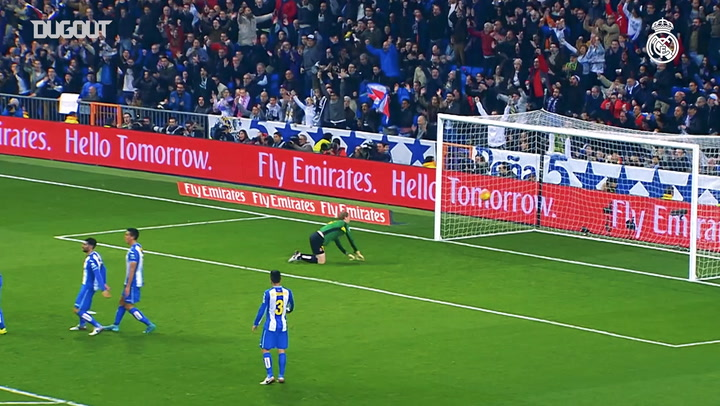 Cristiano's strike against Espanyol