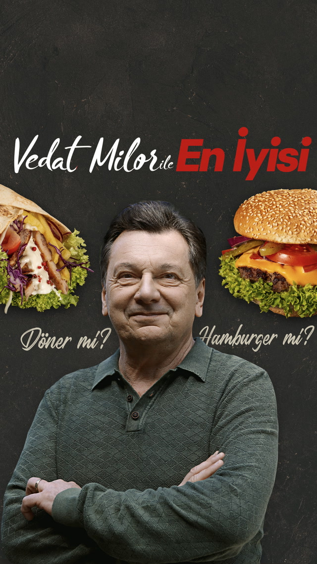 Vedat Milor ile En İyisi - Burger mi? Döner mi?
