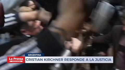 Cristian Kirchner responde a la justicia