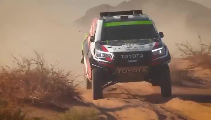 Alonso y Marc Coma vuelven a terminar cuartos en la segunda etapa del Rally Ula Neom