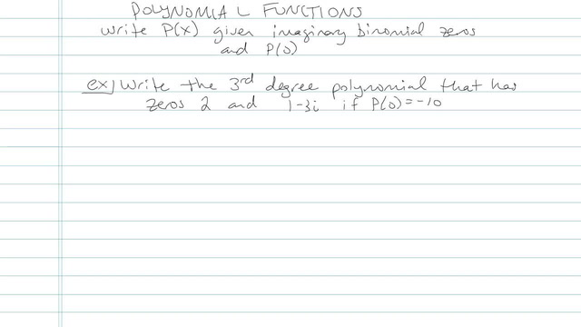 Polynomial Function - Problem 8
