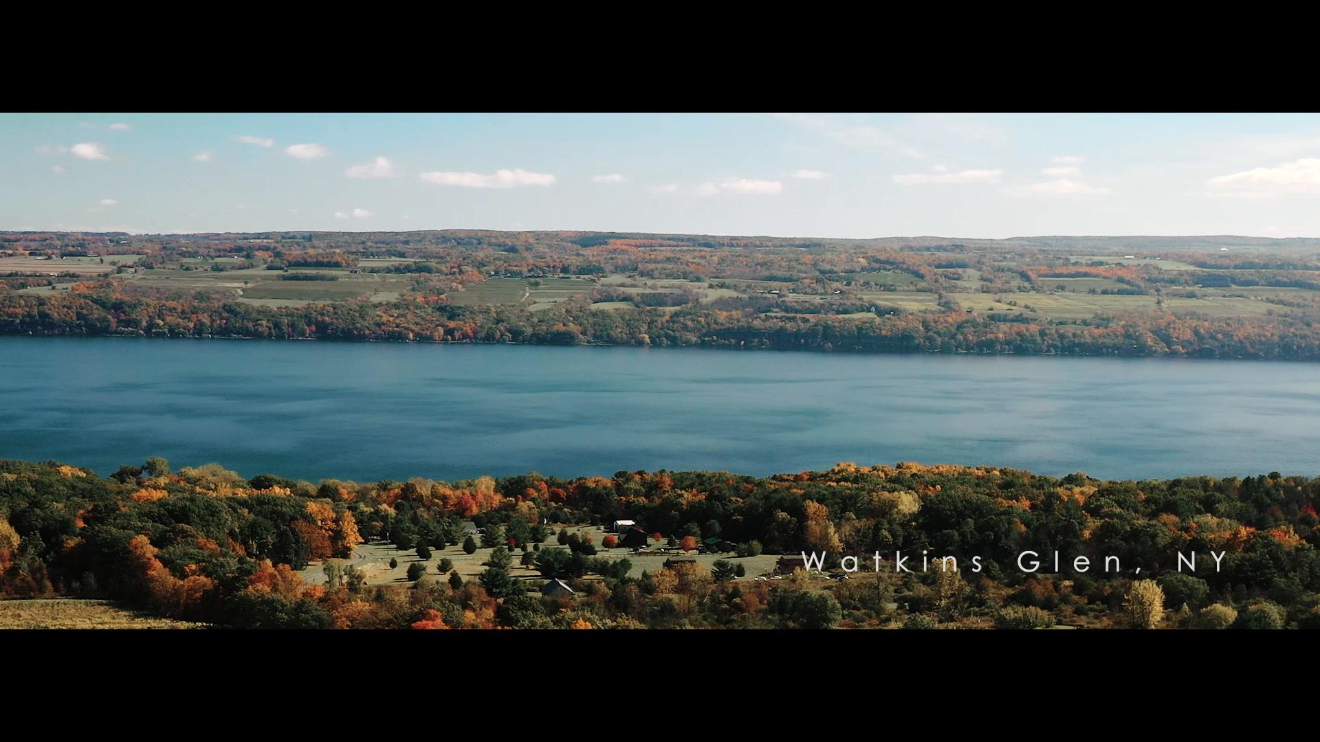 Amie + Sean | Dundee, New York | glenora wine cellars