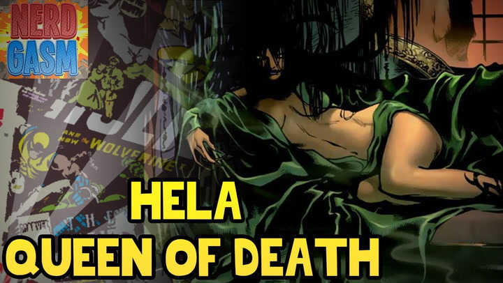History of Hela, Daughter of Loki, and Queen of Death