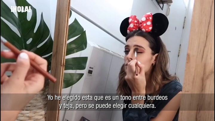 El maquillaje de ojos de Susana Molina para una cita especial