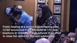 Clark County School Board hears upset teachers and parents