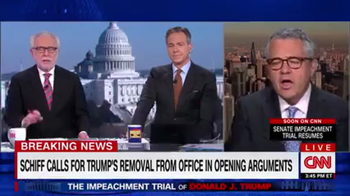 CNN's Jeffrey Toobin: Adam Schiff Was 'Dazzling' in Open Arguments