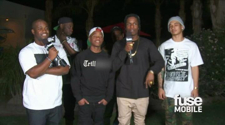 Coachella 2012: A$AP Rocky - Weirdest Gift From A Fan