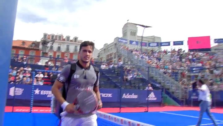 Resumen Semifinales Galán/Mieres Vs Piñeiro/Ruiz Valladolid Master 2019