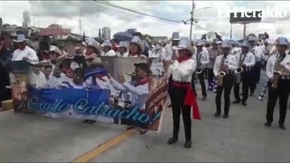Banda Juvenil 504 también dijo presente en fiesta cívica