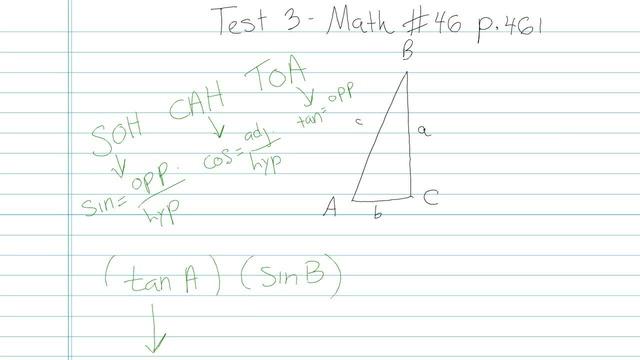 Test 3 - Math - Question 46