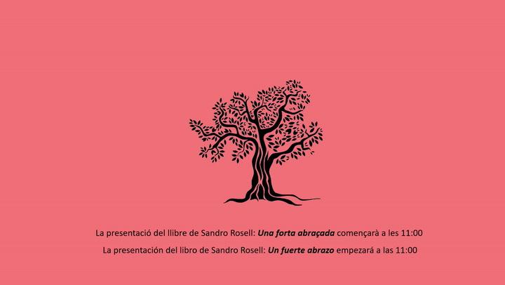 Sandro Rosell presenta su libro 'Un fuerte abrazo'