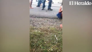 Desgarrador momento tras accidente vehícular en la CA-5